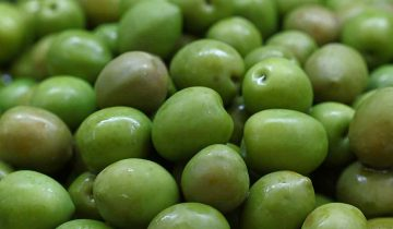 fresh olives green